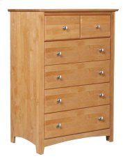 Alder Shaker 6 Drawer Chest Product Image