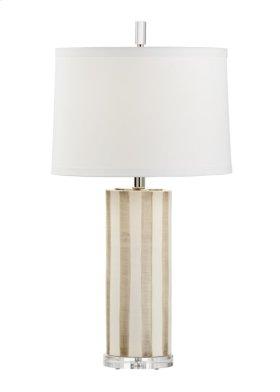 Sailor Stripe Lamp - Taupe