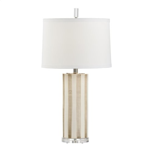 Sailor Stripe Lamp - Taupe