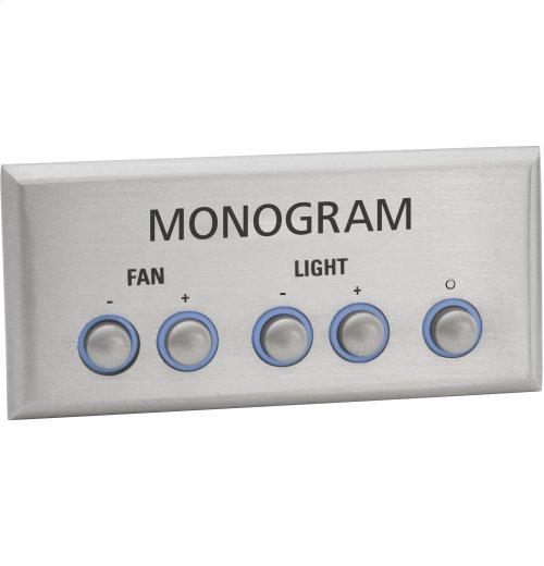 """Monogram 36"""" Custom Hood Insert"""