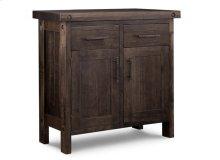 Rafters Sideboard w/2 Wood Doors & 2/Dwrs & 1/Wood Adjust.