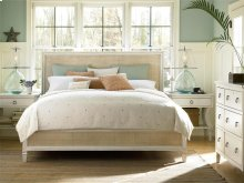 Woven Accent King Bed