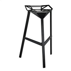 Launch Stacking Bar Stool in Black Product Image