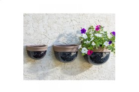 Stormy Sky Wall Planter - Set of 3