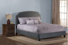 Lani Bed With Frame - King - Dark Gray