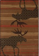Contours/cem Urban Lodge Terracot Rugs Product Image