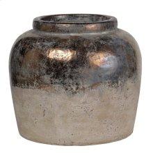 """1343  11"""" Candia Vase Sienna"""