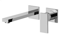 Solar Wall-Mounted Lavatory Faucet w/Single Handle