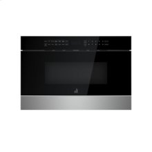 """NOIR 24"""" Under Counter Microwave Oven with Drawer Design"""