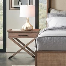 Mirabelle - Leg Nightstand - Ecru Finish