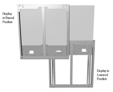 Vertical Lift Display Wall Mount (Large)