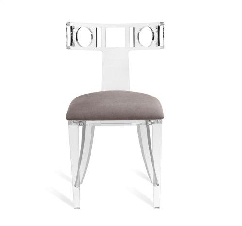 Ardsley Acrylic Klismos Chair