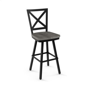 Kent Swivel Stool (wood)
