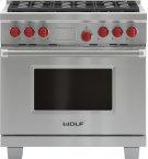 "36"" Dual Fuel Range - 6 Burners Product Image"