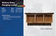 Hickory Entry Hanging Locker