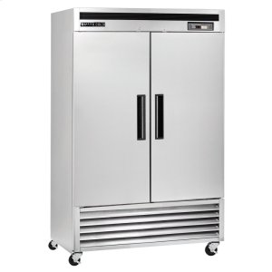 Maxx Ice  Maxx Cold Reach-In Upright Refrigerator in Stainless Steel (49 cu. ft.)