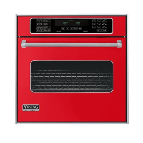 """Racing Red 30"""" Single Electric Touch Control Premiere Oven - VESO (30"""" Wide Single Electric Touch Control Premiere Oven)"""