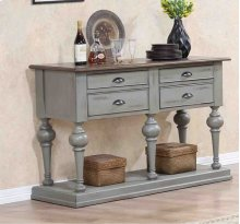Server - Putty/Oak Finish