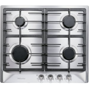 MieleGas cooktop with 4 burners