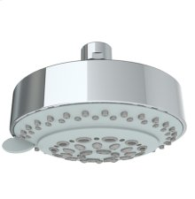 4 Function Antiscale Shower Head 2.0 Gpm @ 80 Psi