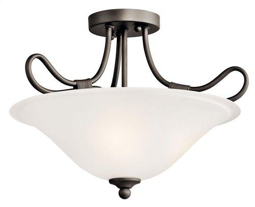 Stafford 2 Light Convertible Inverted Pendant Olde Bronze®
