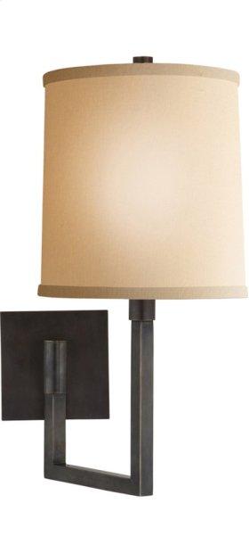 Visual Comfort BBL2028BZ-L Barbara Barry Aspect 11 inch 75 watt Bronze Swing-Arm Wall Light