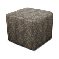 Castile Cocktail Ottoman with Casters 1857RC Product Image