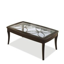 Annandale Coffee Table Dark Mahogany finish