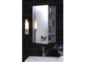 Flat Plain Mirror Cabinet Product Image