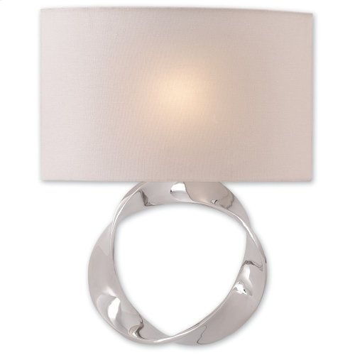 Chancey Nickel Wall Sconce