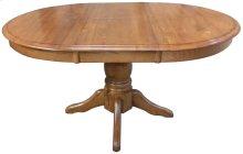 "30""H Pedestal Table w/1-15"" Butterfly Leaf"