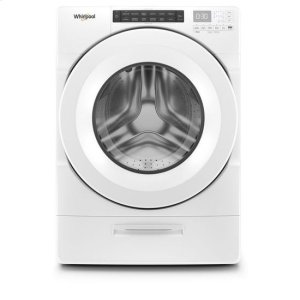 WhirlpoolWhirlpool(R) 4.5 cu. ft. Closet-Depth Front Load Washer with Load & Go(TM) Dispenser - White
