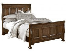 Sleigh Bed King