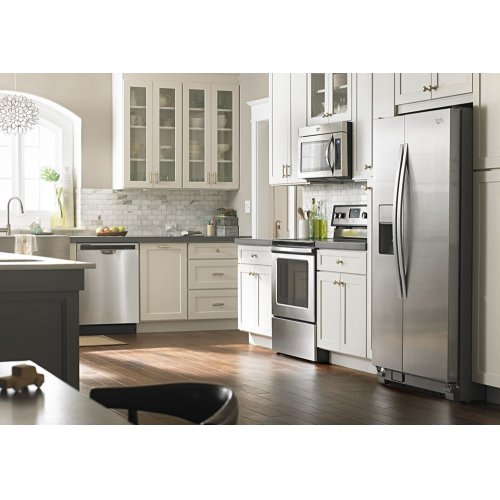 36-inch Wide Large Side-by-Side Refrigerator with Greater Capacity and Temperature Control - 25 cu. ft. - FLOOR MODEL