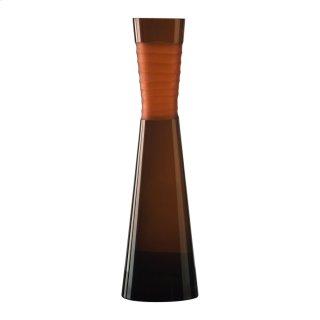 Large Orng Chisld Nk Vase