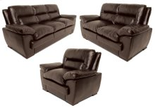 Elio Loveseat, Dark Brown Black