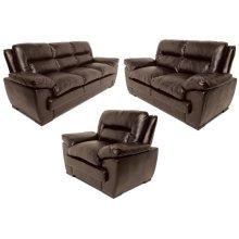 Elio Chair, Dark Brown Black
