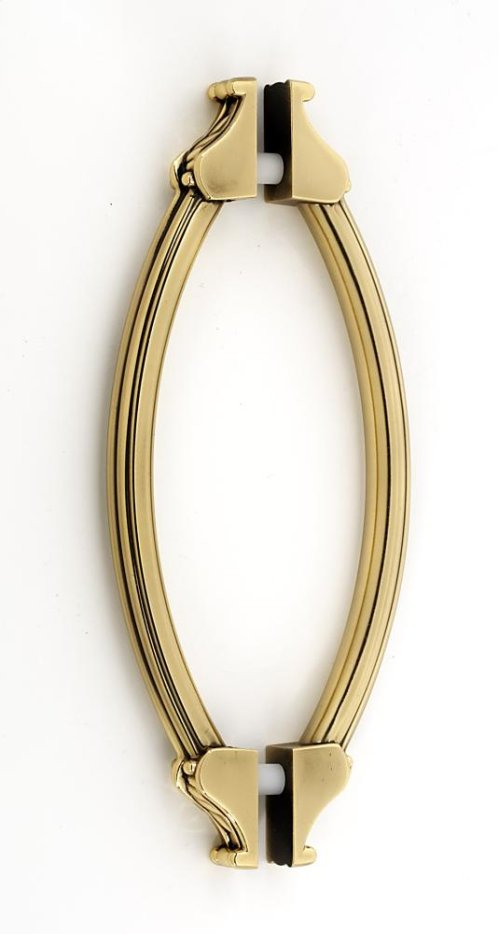Fiore Back-to-Back Pull G1476-6 - Polished Antique