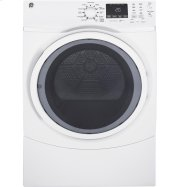 GE® 7.5 cu. ft. capacity Front Load electric dryer with steam Product Image