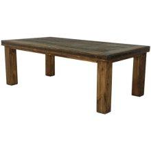"7"" Laguna Table W/Reclaimed Wood"