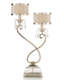 Two-Light Curly Lamp (Left)