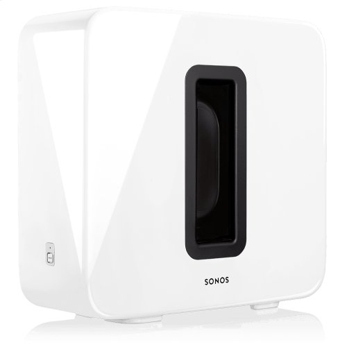 White- Get immersive sound and deep bass plus voice control for your TV, music, and more.