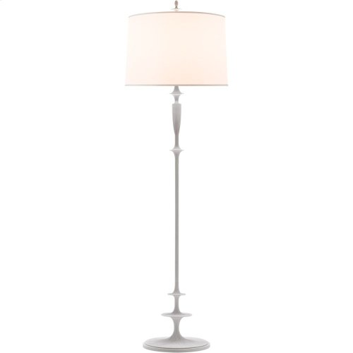 Visual Comfort BBL1002WHT-S Barbara Barry Lotus 69 inch 150 watt Plaster White Decorative Floor Lamp Portable Light