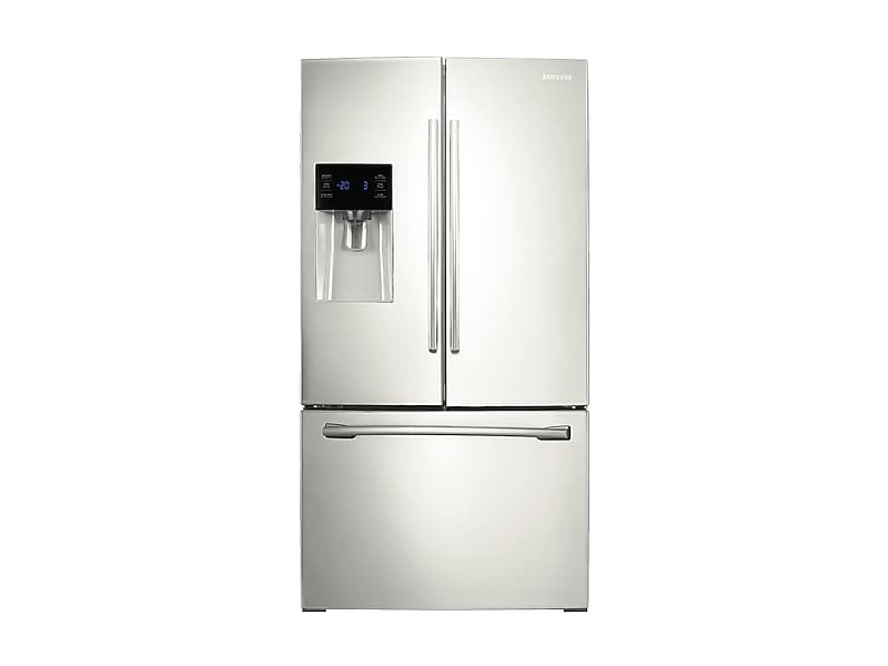 Samsung25 Cu. Ft. French Door Refrigerator With External Water & Ice Dispenser In White