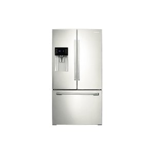 Samsung 鸭博娱乐s25 cu. ft. French Door Refrigerator with External Water & Ice Dispenser in White