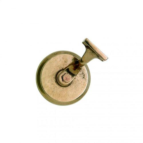 Round Handrail Bracket Silicon Bronze Brushed