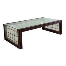Cross Channel Rectangular Cocktail Table