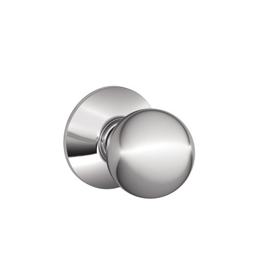 Orbit Knob Hall & Closet Lock - Bright Chrome