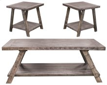 Cloud Gray Coffee and End Table Set