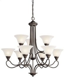 Stafford 9 Light Chandelier Olde Bronze®